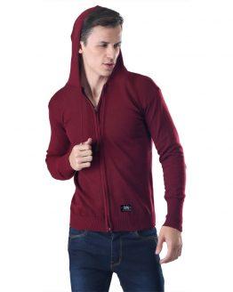 Inficlo Sweater Pria Marun Rajut SMD 726