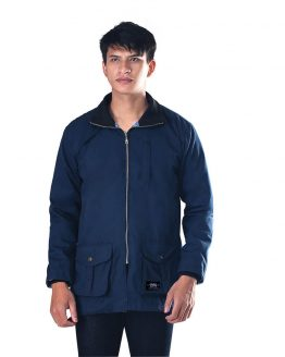 Inficlo Jaket Pria Navy Twill SBY 374